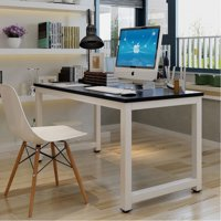 Ktaxon Modern Computer Desk PC Workstation with Metal Leg Writing Study Table Home Office