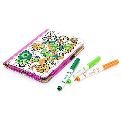 Crayola Carrying Case (Folio) for iPad mini - Drop Resistant Interior