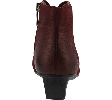 Women's Spring Step Aellice Bootie Bordeaux Pebbled Leather 36 M - image 1 of 7