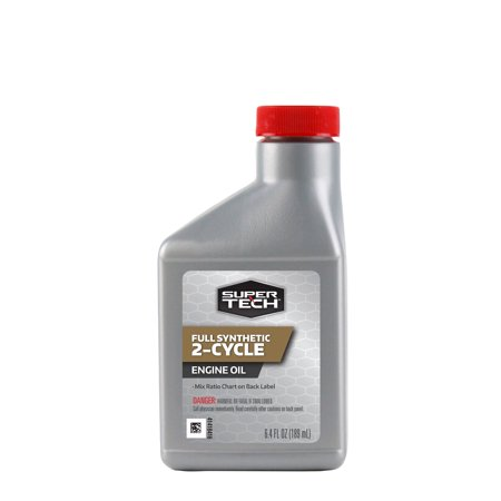 Super Tech Synthetic 2-Cycle Engine Oil, 6.4 oz