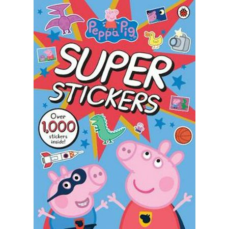 Peppa Pig Super Stickers Activity Book (Paperback)](Pig Craft)