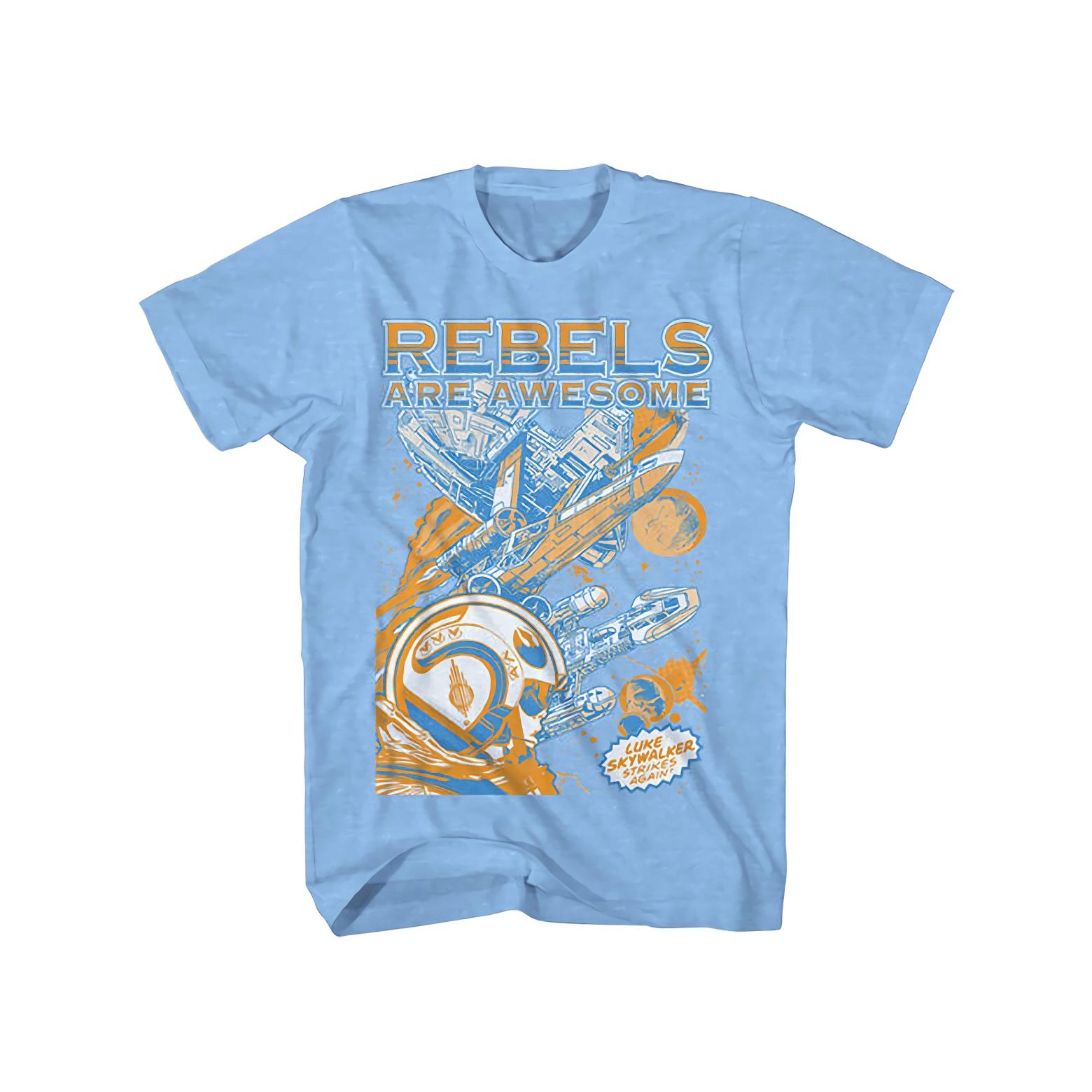 Star Wars Awesome Rebels Boys T-Shirt   L