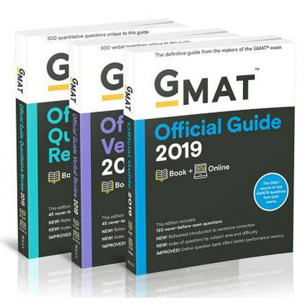 GMAT Official Guide 2019 Bundle : Books + Online - Halloweentown Online