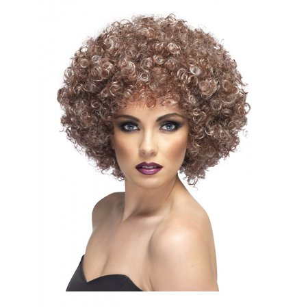 Afro Wig Adult Costume Accessory - Brown Afro
