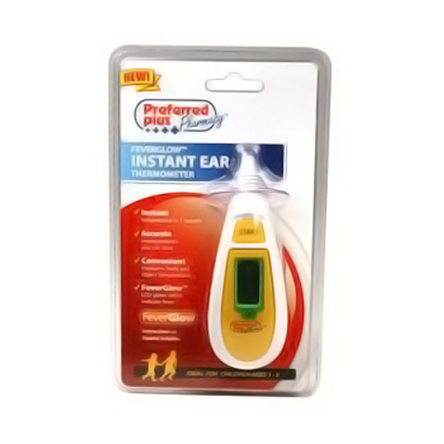 Preferred Plus Feverglow Instant Ear Thermometer - 1 Ea