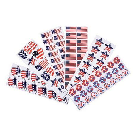 Assortment Scrapbooking - Patriotic Sticker Assortment (almost 1,000 stickers)