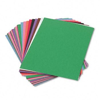 SunWorks 6503 Construction Paper, 58 lbs, 9 x 12, Assorted, 50 Sheets/Pack
