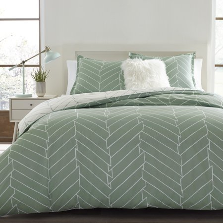 City Scene Ceres Green Duvet Cover Set, Twin ()