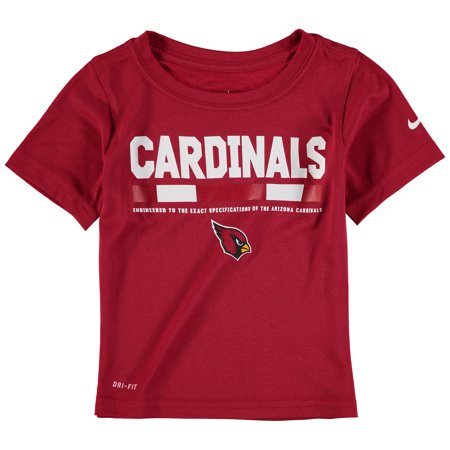 Arizona Cardinals Nike Toddler Legend Staff Performance T-Shirt - Cardinal ()