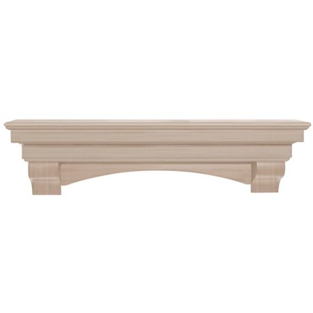 Pearl Mantels The Auburn Fireplace Shelf Mantel (Mantel Decor Ideas)