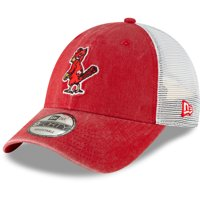 St. Louis Cardinals New Era 1950 Cooperstown Collection Trucker 9FORTY Adjustable Snapback Hat - Red - OSFA