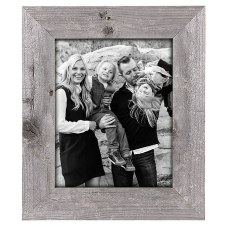 BarnwoodUSA Rustic Reclaimed Wood Picture Frame