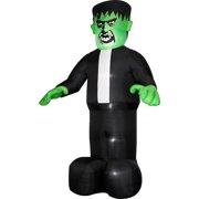 Airblown Halloween Inflatable Big Head Monster, 12' Tall x 7.5' Wide
