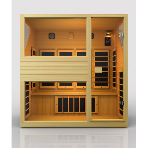 JNH Lifestyles Ensi 4 Person Carbon FAR Infrared Sauna by JNH Lifestyles