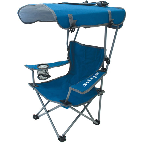 Kelsyus Kids Canopy Chair Blue Gray