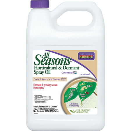 Bonide Products Gallon (Bonide Products Inc P-All Seasons Horticultural Oil Spray Concentrate 1 Gallon )