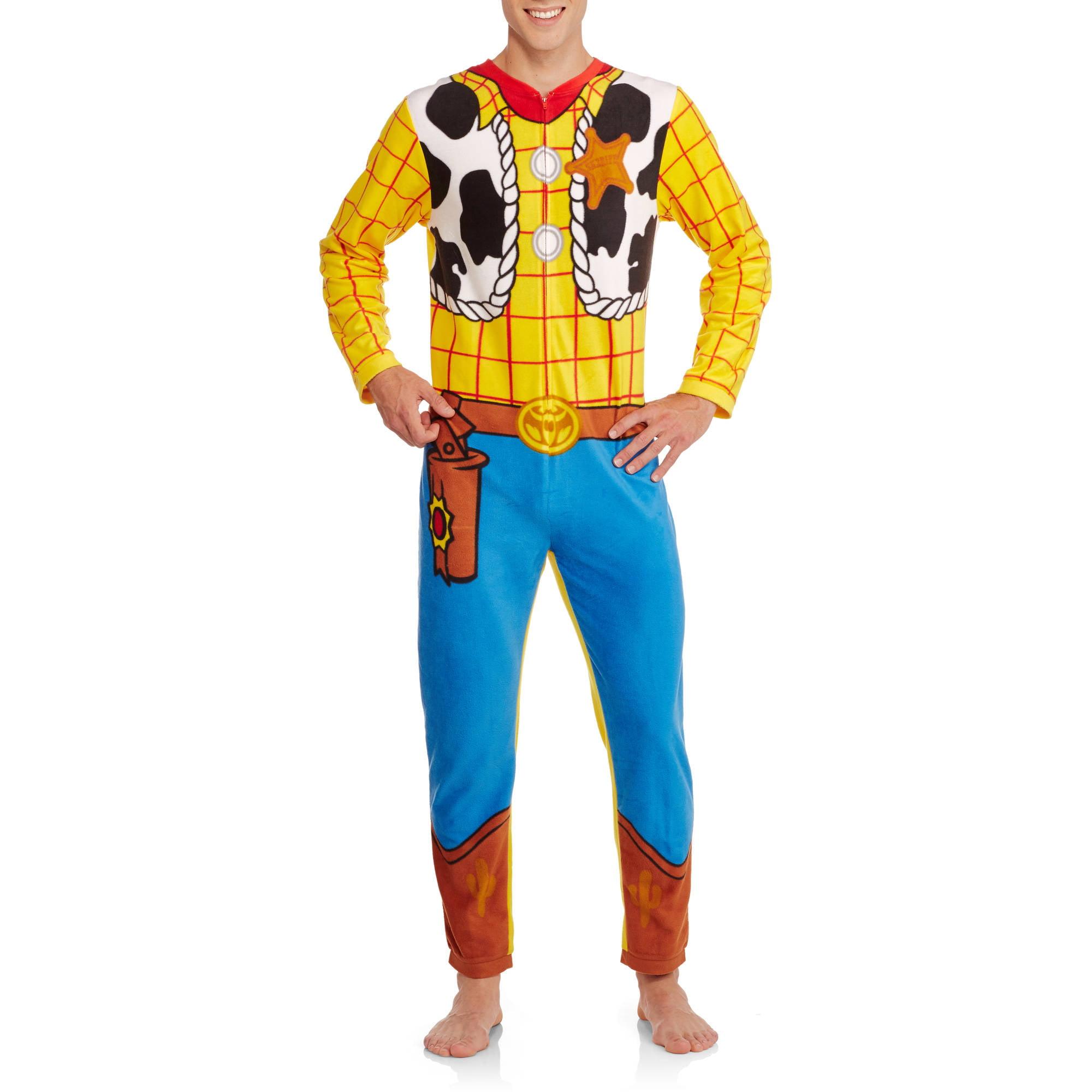 Toy Story Big Men's Onesie Woody Union Suit