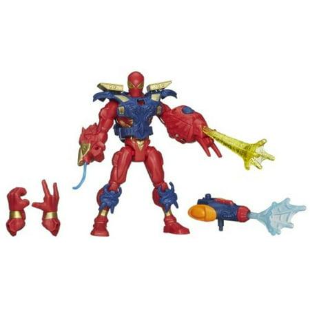 Marvel Super Hero Mashers Electronic Iron Spider Figure - 6 (Marvel Super Hero Mashers Electronic Iron Man Figure)