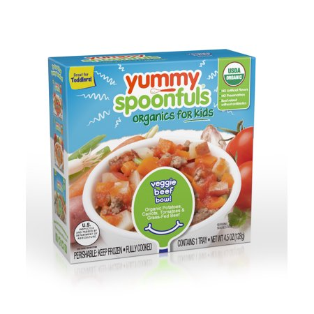 Yummy Spoonfuls Meat/Veggie Bowls