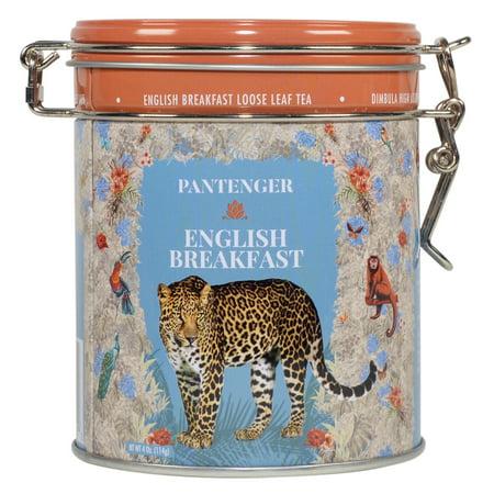 Pantenger English Breakfast Loose Leaf Tea. 4 Ounce (55 Servings). Black Tea Loose Leaf.