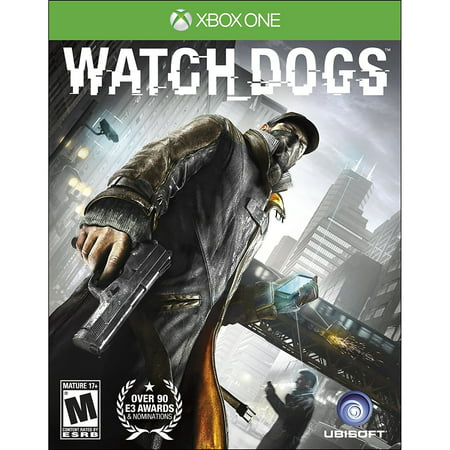 Watch Dogs - Ubisoft Microsoft Xbox One Video Game - New Sealed Disc