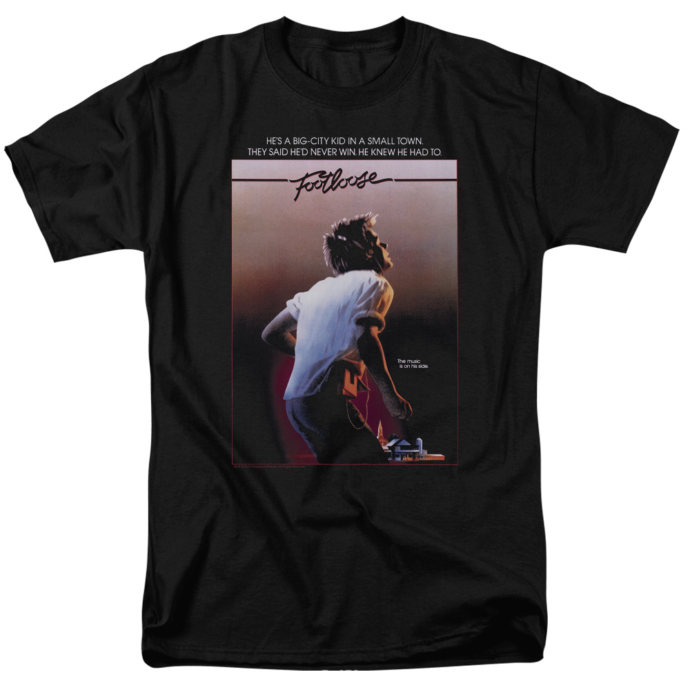 Footloose Poster Mens Short Sleeve Shirt