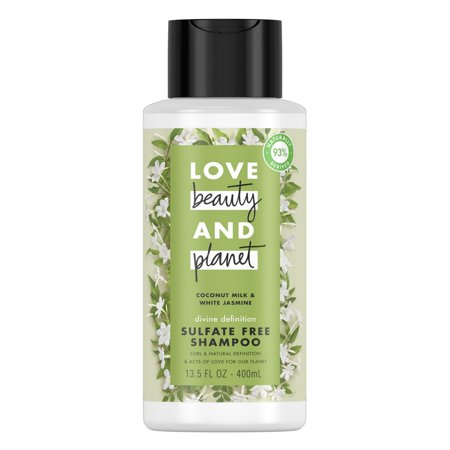 Love Beauty And Planet Divine Definition Shampoo Coconut Milk & White Jasmine 13.5 oz ()