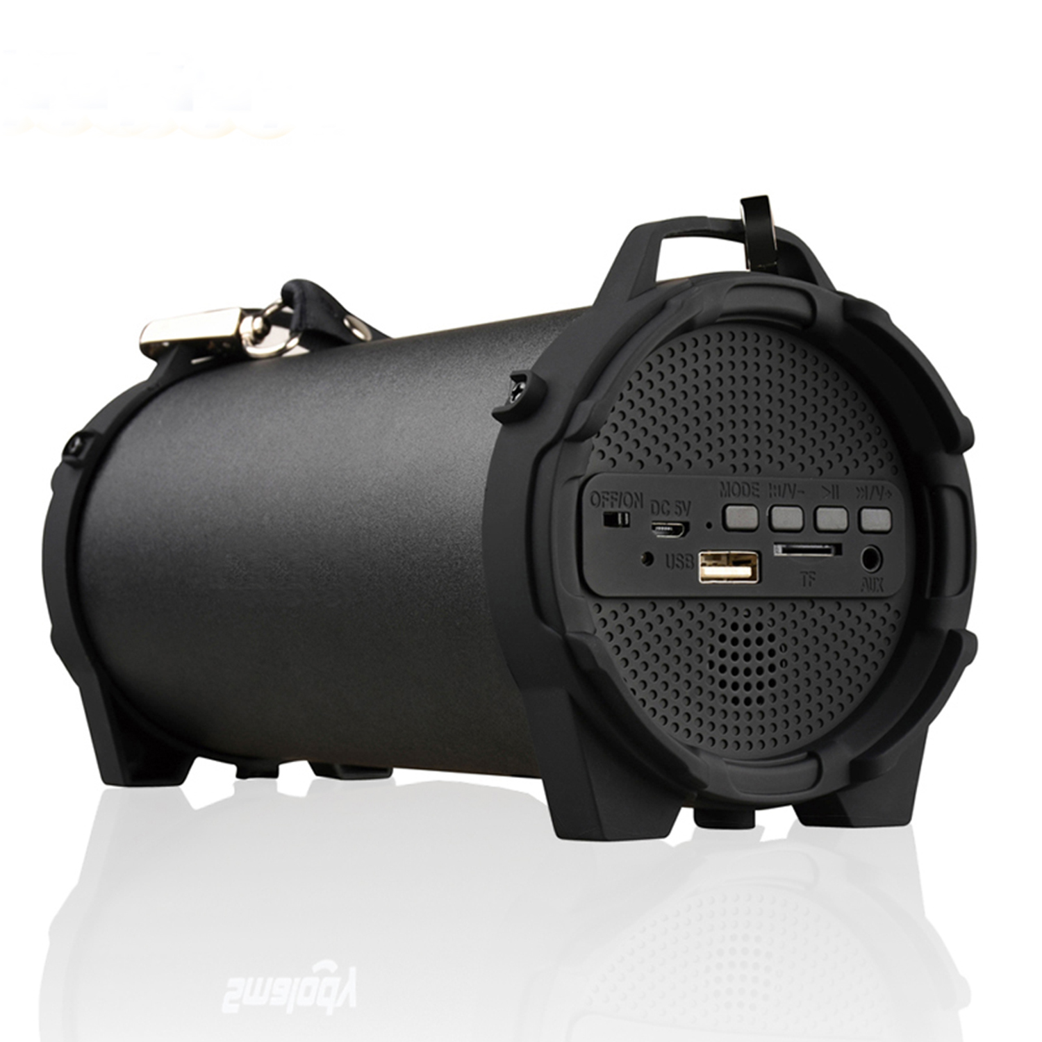 """""""Happyline"""" Bluetooth Speaker Portable Outdoor Wireless Speakers with Carrying Strap Built in USB, TF Card slot,Aux Best for Party,Camping & Outdoor"""