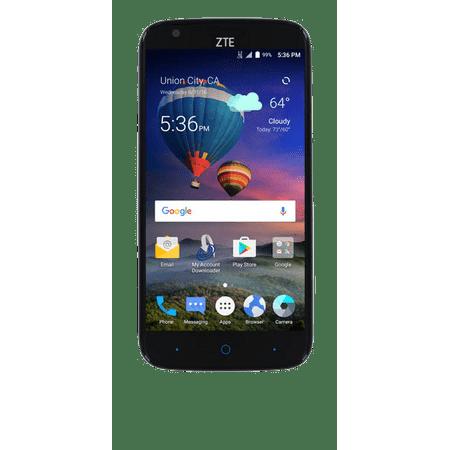 Straight Talk Zte Zmax Champ 4G Lte Prepaid Smartphone