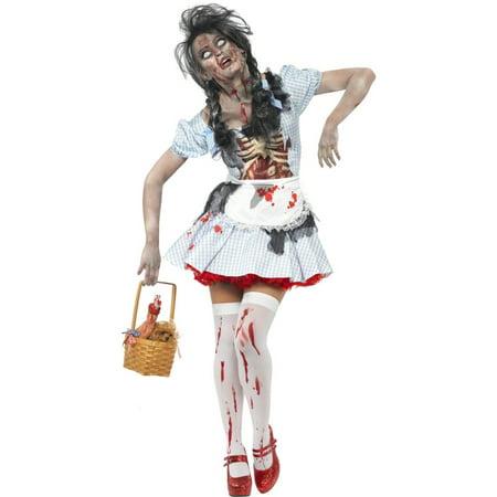 Adult Zombie Dorothy Costume Smiffys 21579](Halloween Costumes Smiffys)