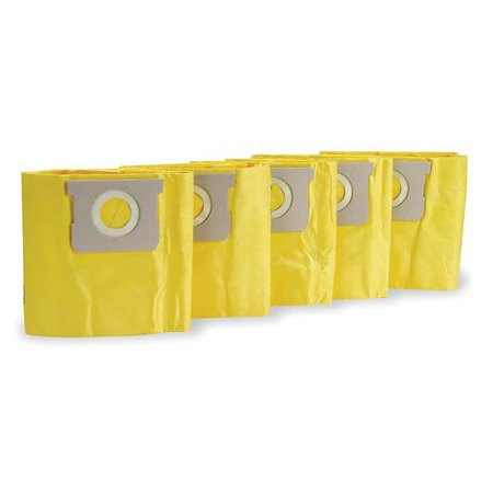 Dacron Filter Bag - DAYTON Filter Bag, Disposable, PK 5, Fits Mfr #1TFX2 1UFP3
