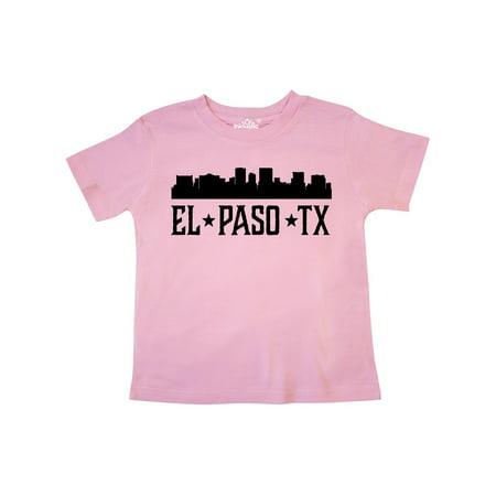 El Paso Texas City Skyline Toddler T-Shirt