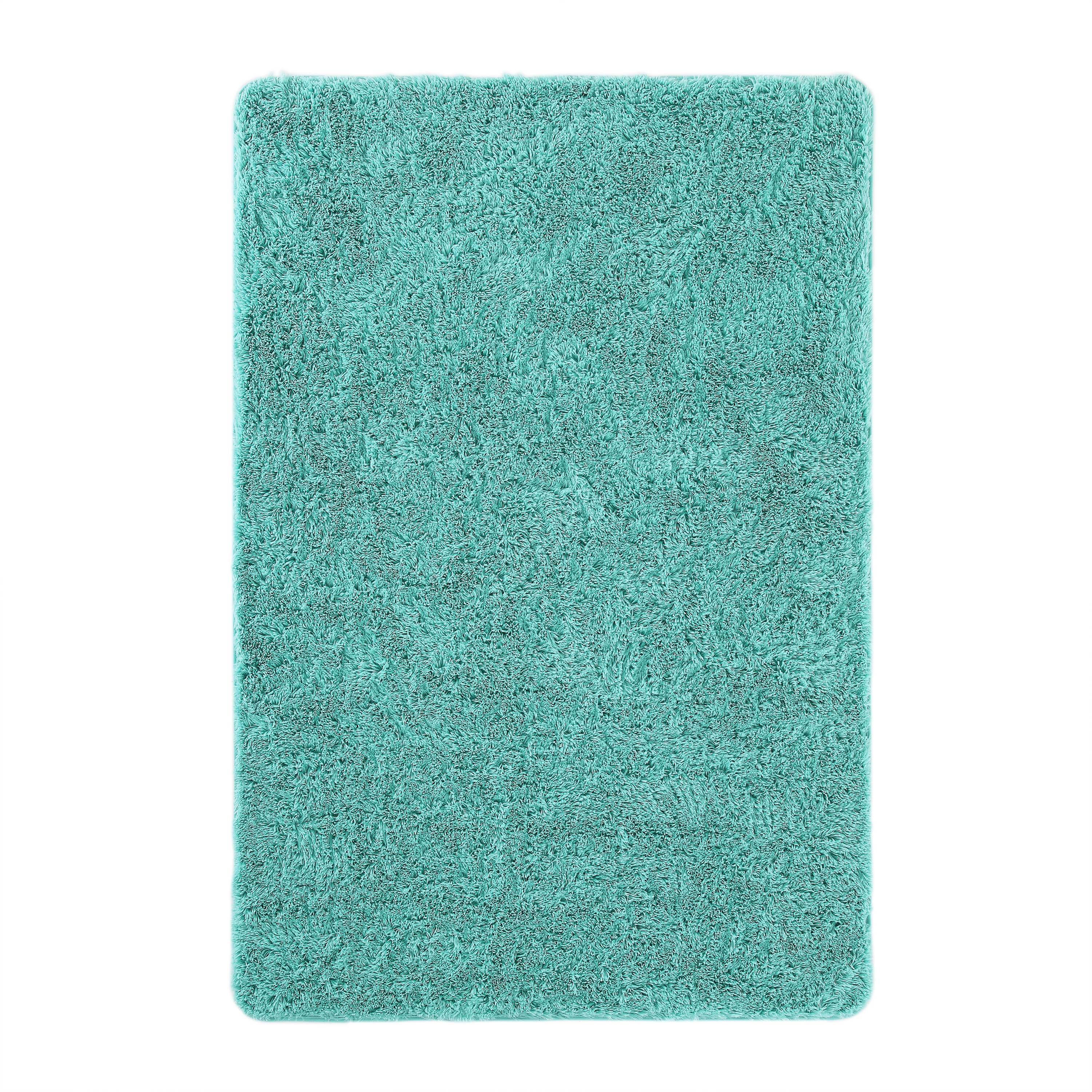 Mainstays Fuzzy Shag Area Rug, Multiple Colors and Sizes Available