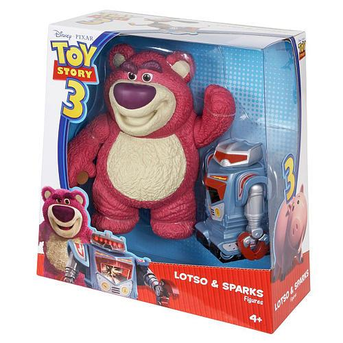 Toy Story 3 Lotso & Sparks Action Figure 2-Pack by