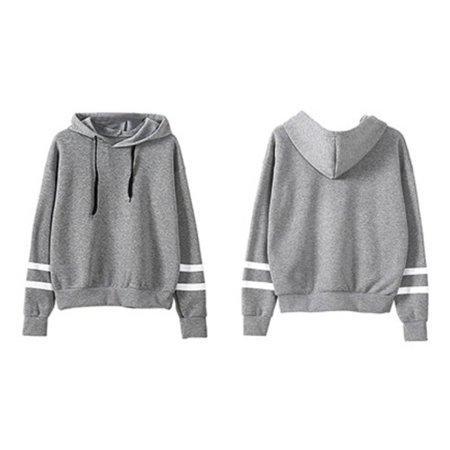 Autumn & Winter Loose Long Sleeves Hoodies For Women Warm Hooded Pullovers - image 4 of 4