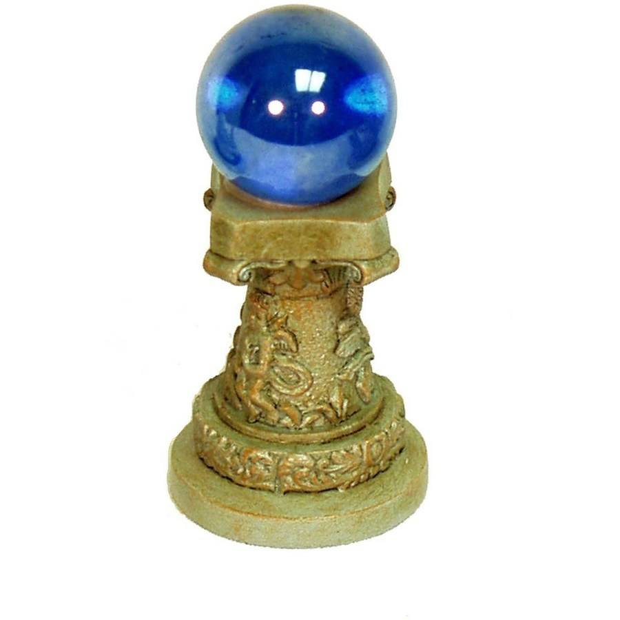 "Echo Valley 6258 1.25"" Mini Enchanted Gardens Gazing Globe/Column"