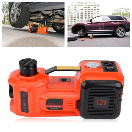 Anauto 5Ton 12V DC Automotive Car Electric Hydraulic Floor Jack Lift Garage and Emergency Equipment, Car Electric Jack, Auto