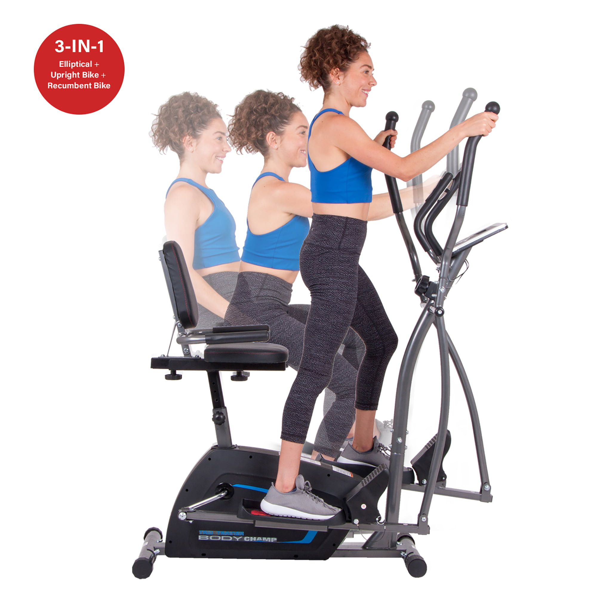 Body Champ BRT1875 Trio Trainer by HUPA International Inc