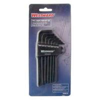WESTWARD 40WZ25 7 Pc. Torx(R) Torx® L-Shaped Hex Key Set