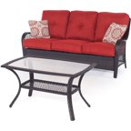 Hanover Outdoor Orleans 2-Piece Patio Set