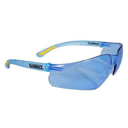 DeWalt DPG52-BD Contractor Pro SAFETY Glasses - Light Blue Lens (1 Pairper -