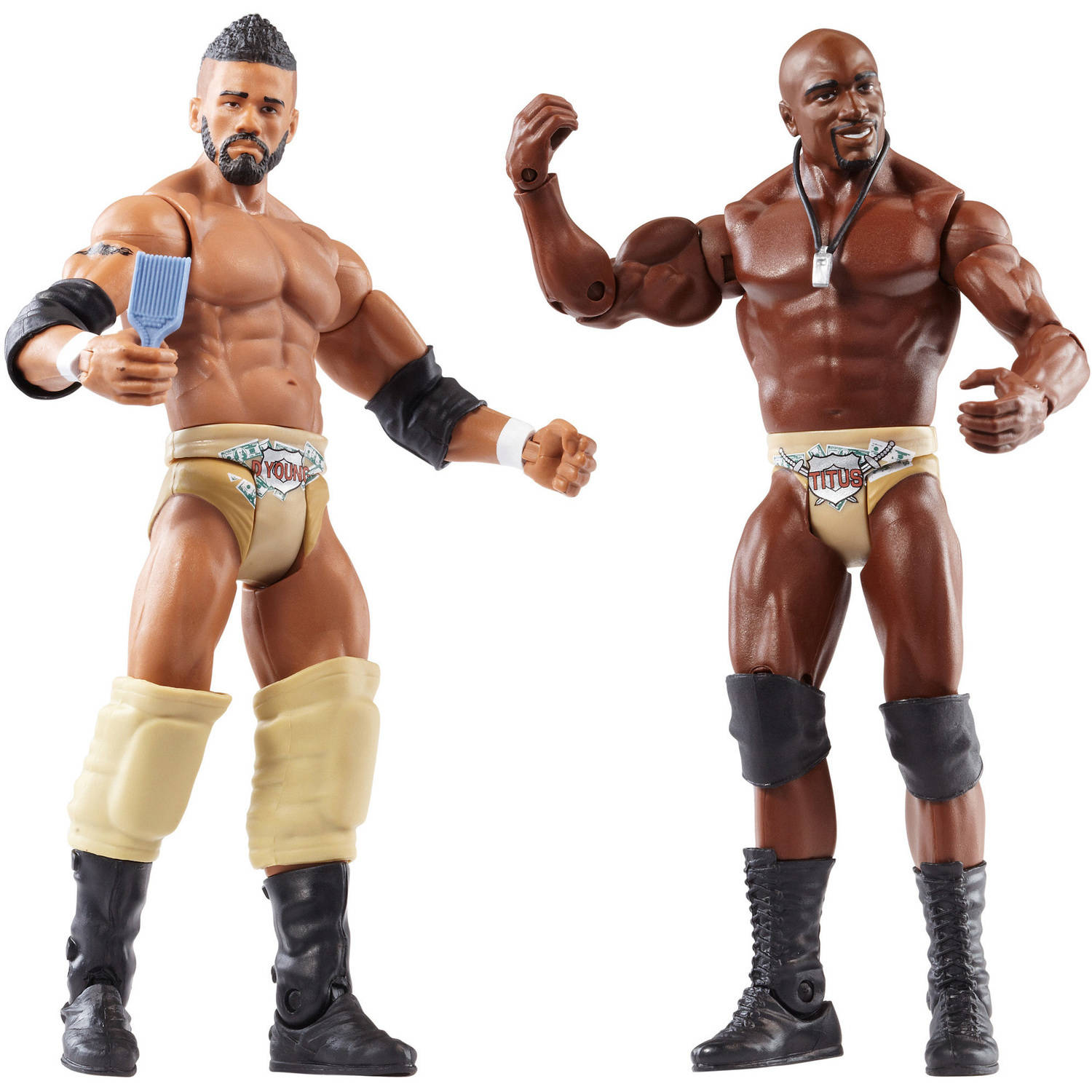 WWE 2-Pack Darren Young and Titus O'Neill Figures