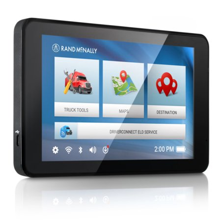 Rand McNally IntelliRoute TND 740LM Free Lifetime Maps Truck GPS ()