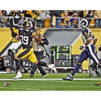 Minkah Fitzpatrick Pittsburgh Steelers Unsigned Horizontal Fumble Recovery Touchdown Photograph