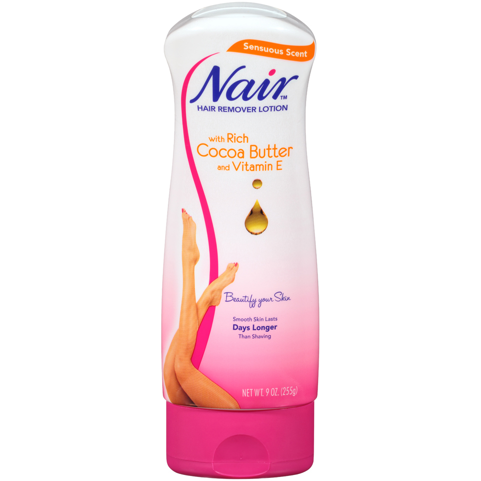 Nair Sensuous Scent Hair Remover Lotion, 9 oz