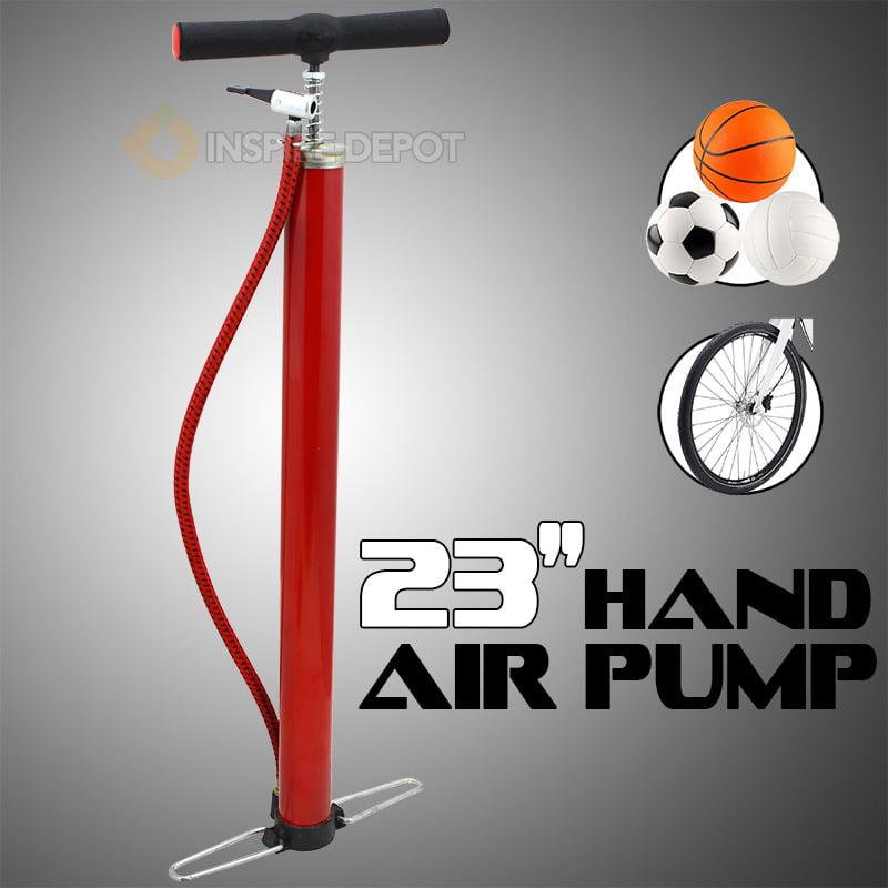 "STKUSA 23"" Hand Tire Inflating Air Pump Foot Pedals"