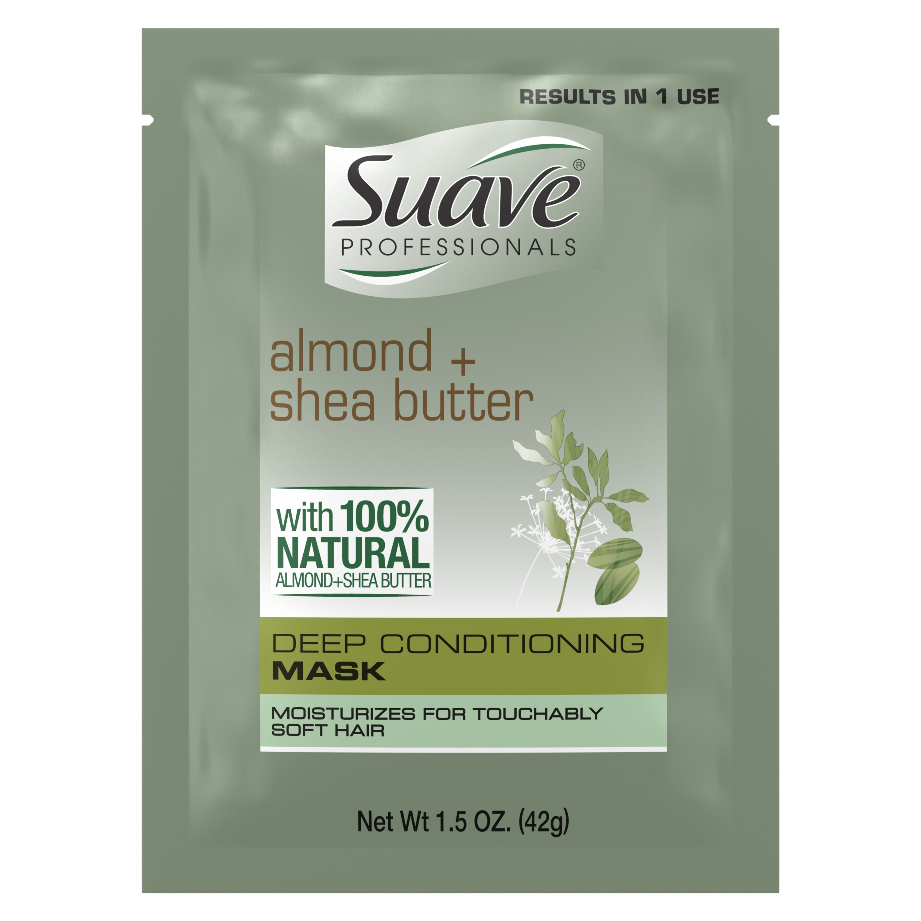 Suave Professionals Intense Moisture Hair Mask Almond and Shea Butter 1.5 oz
