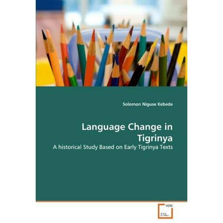 Language Change in Tigrinya - image 1 de 1