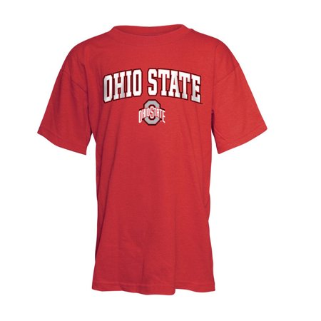 Ohio state buckeyes kids tshirt red m for Ohio state t shirts for kids