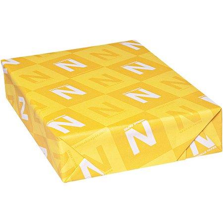 "B622 Neenah Paper CAPITOL BOND Bond Paper - For Inkjet, Laser Print - Letter - 8.50"" x 11"" - 24 lb Basis Weight - Light Cockle - 96 Brightness - 500 / Ream - White"